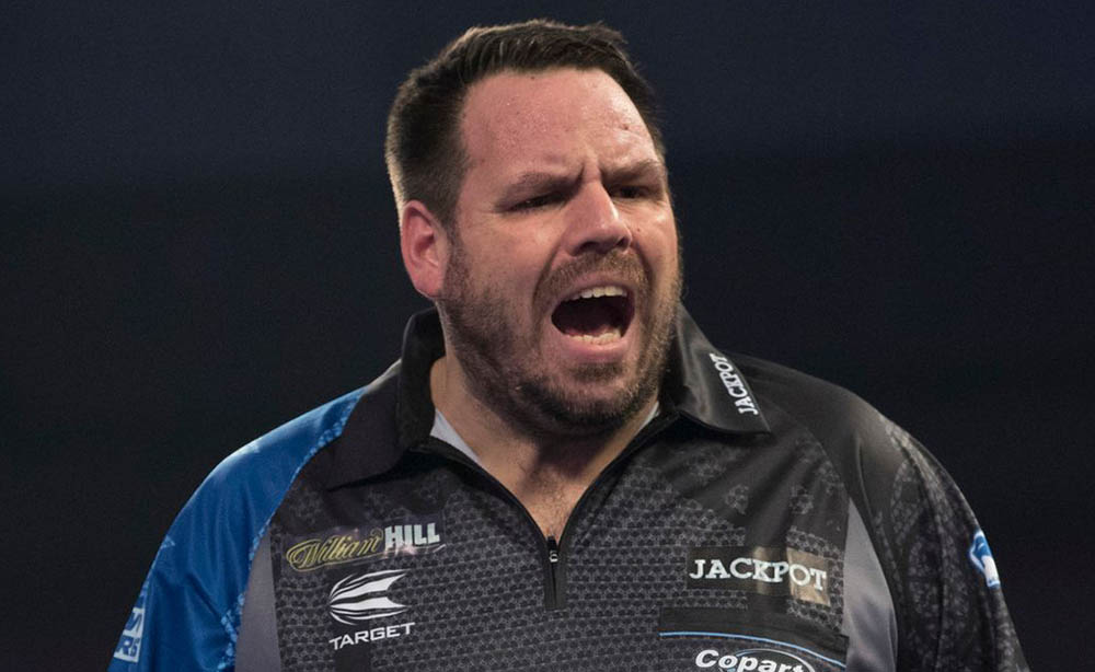 Adrian Lewis wins the PDC Players Championship 5 2015