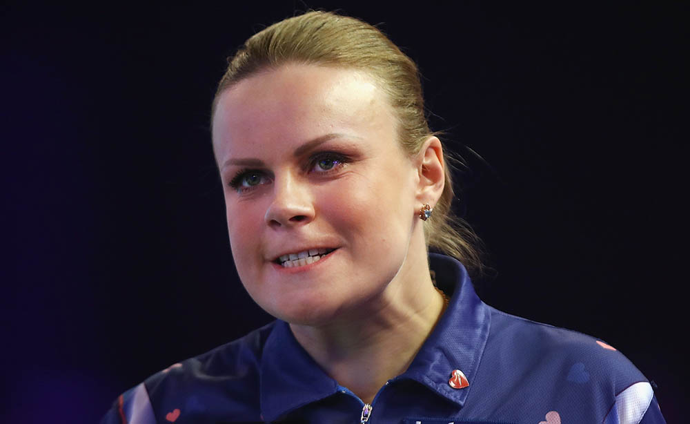 Anastasia Dobromyslova wins the women's BDO Antwerp Open 2014