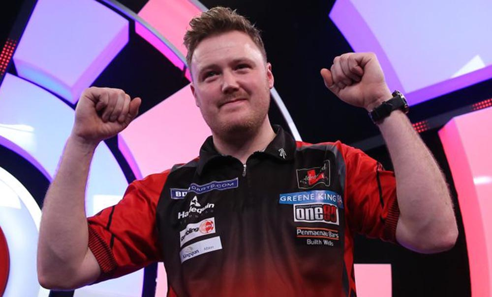 Jim Williams wins the BDO Antwerp Open 2017