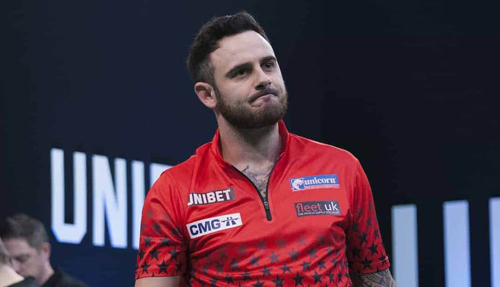 Joe Cullen wins the PDC Players Championship 8 2017