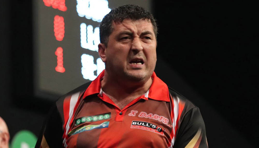 Mensur Suljovic wins the PDC International Darts Open 2016