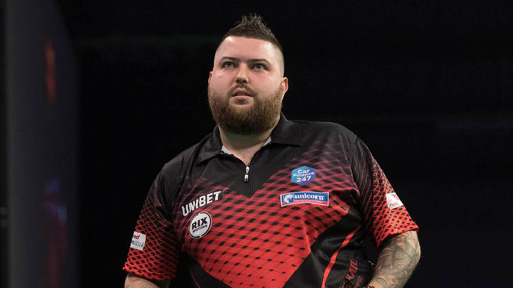 Michael Smith wins the PDC Gibraltar Darts Trophy 2017