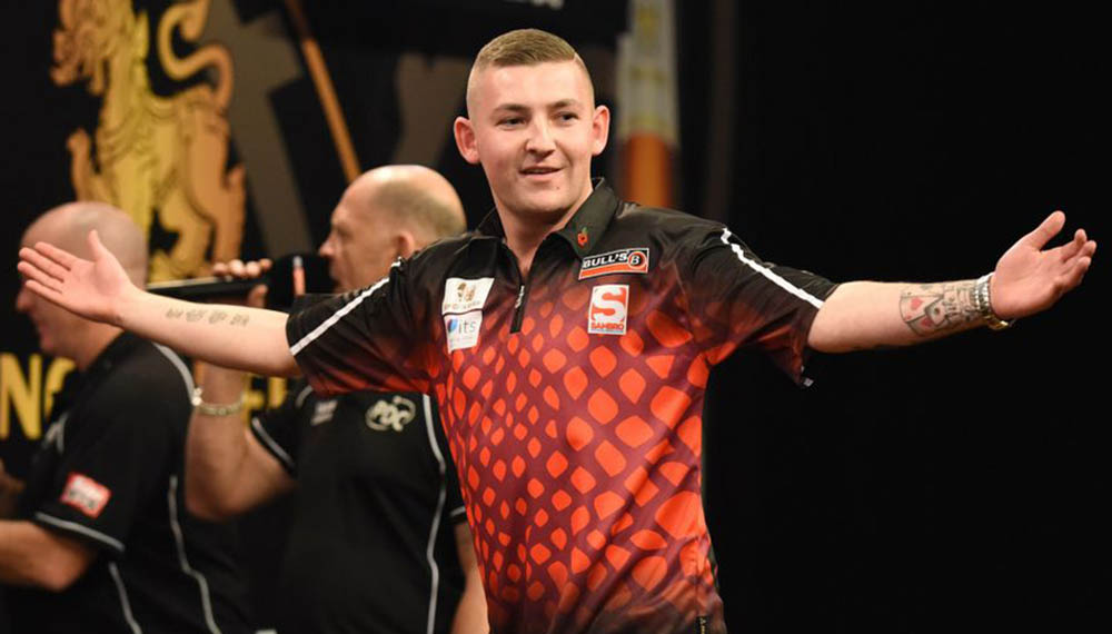 Nathan Aspinall wins the PDC Players Championship 2 2020