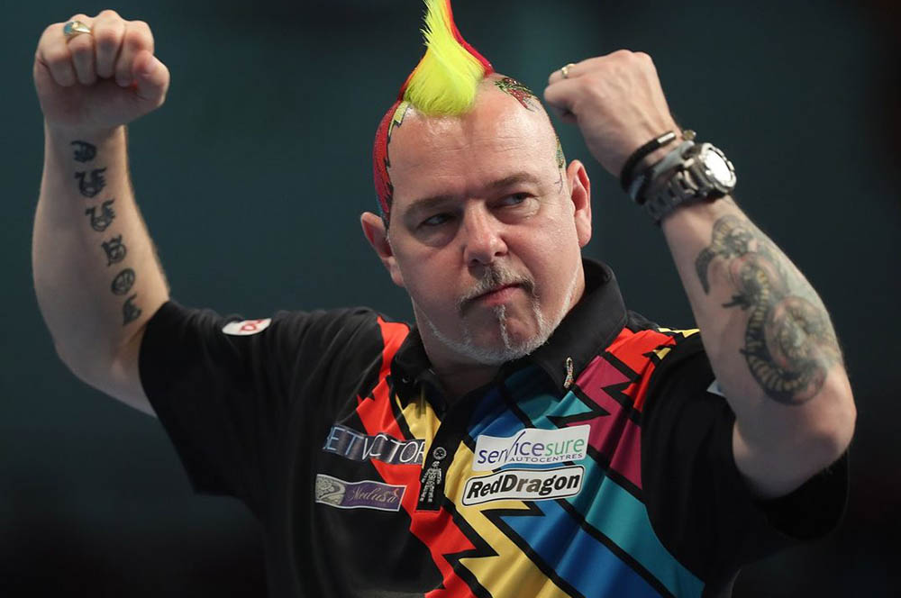 Peter Wright wins the PDC Players Championship 20 2019