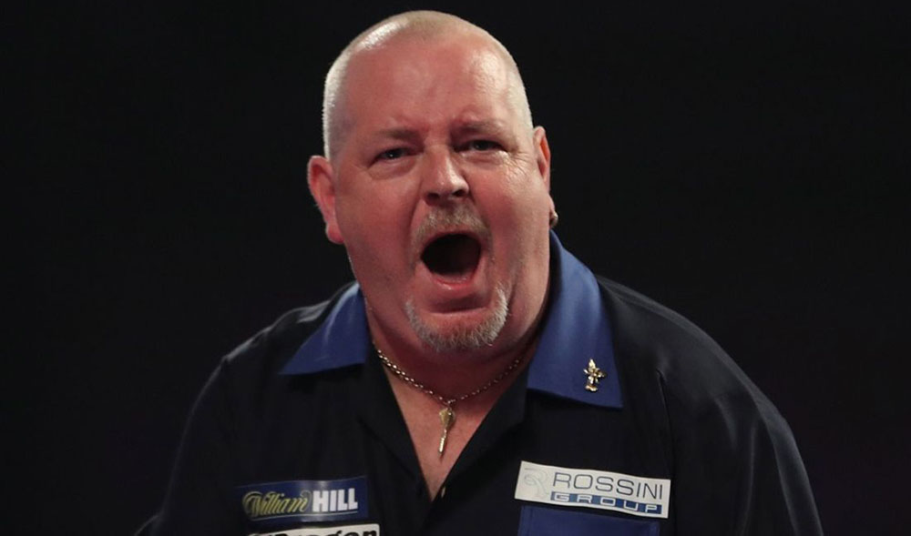 Robert Thornton wins the PDC Players Championship 8 2014